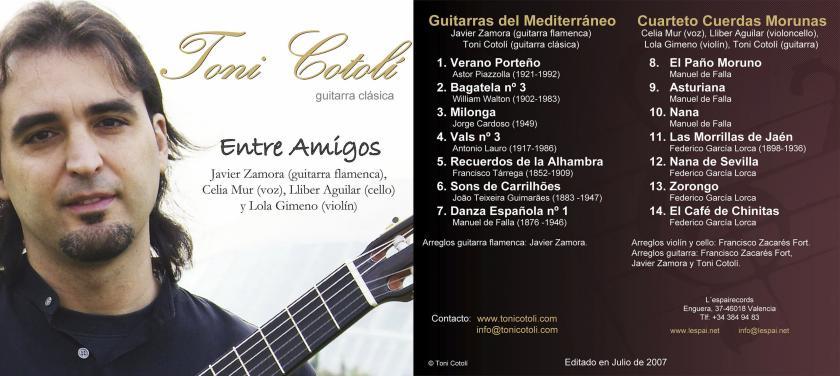 Portada: 2007 Entre Amigos