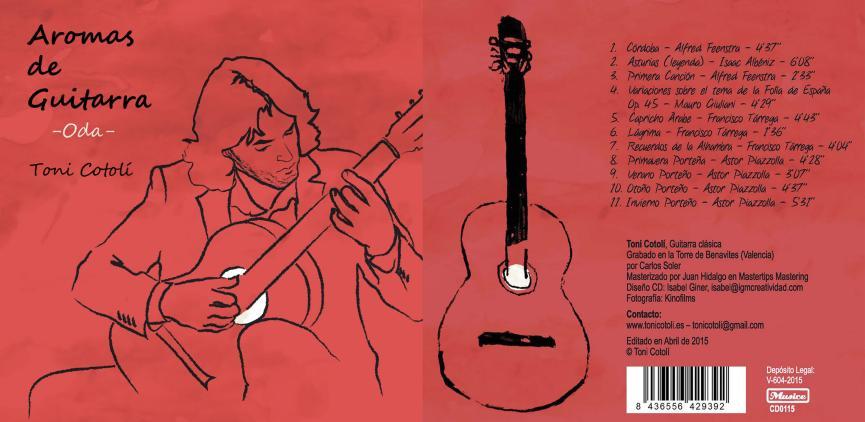 Portada: 2015 Aromas de Guitarra – Oda