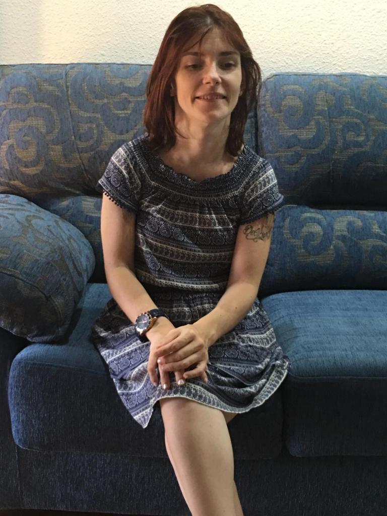Sabrina Balén, escritora, locutadora y presentadora