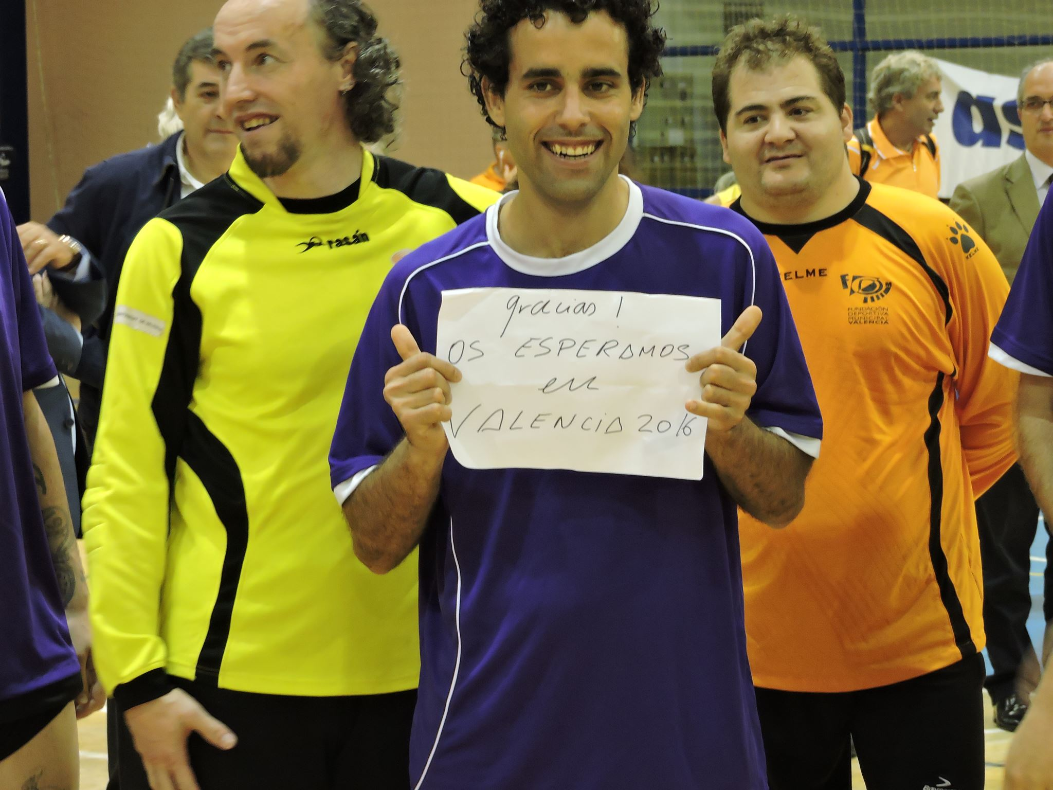 Jugadores del equipo Alter Valencia / Foto: Ximo Gisbert Hidalgo