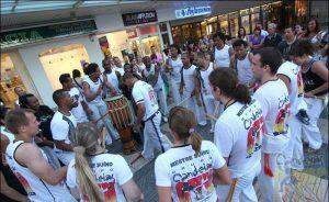 Roda Capoeira en Valencia.