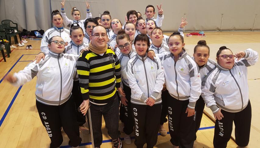 Club Algar, deportistas (con nuestro Redactor Alejandro P.)