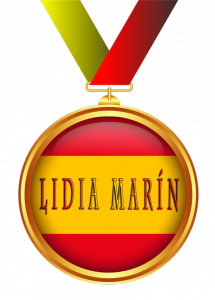 Medalla honorífica otorgada a Lidia Marín por El desván de Alejandro