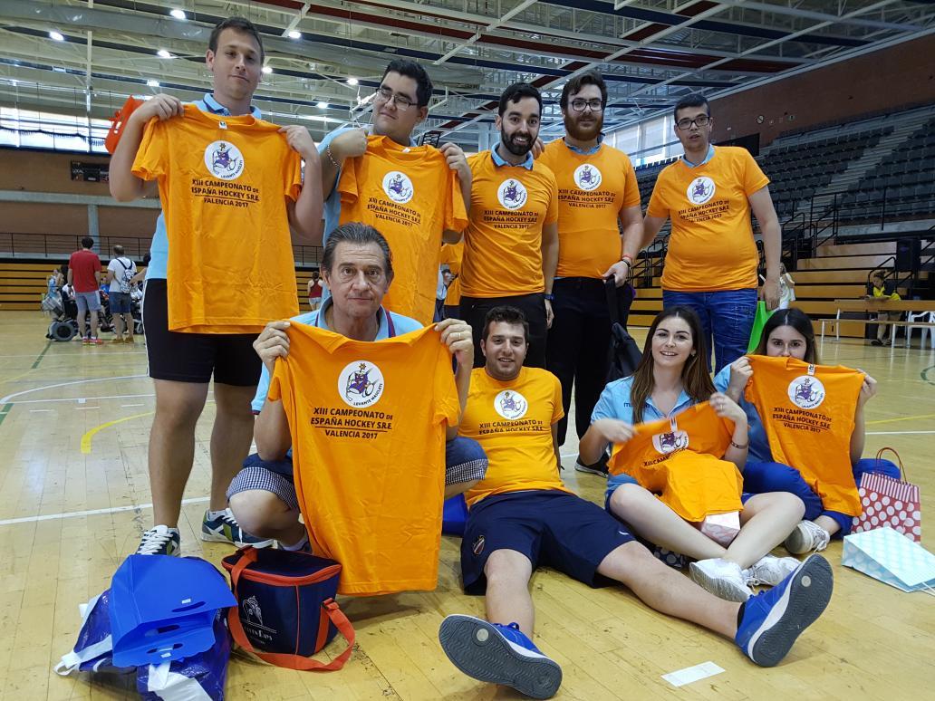 Voluntarios del Levante U.D. que estuvieron en el Campeonato Nacional de HSRE / Foto: Alejandro Piquero Serrano