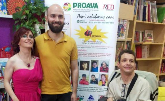 Presentación de Arte Inclusivo / Foto: Red Proyecto Social