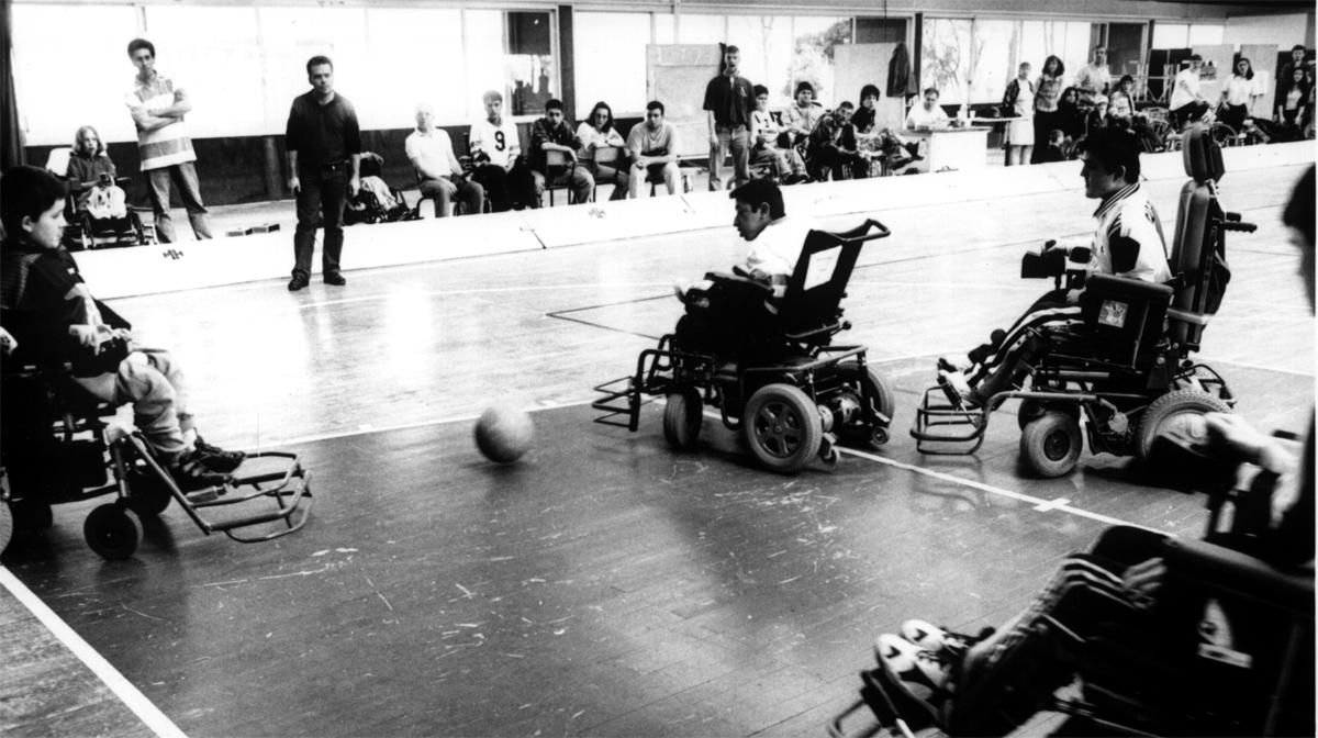El powerchair football ha ido evolucionado tras cuarenta años de vida / Foto: fipfa.org