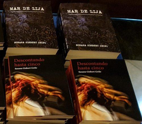 Mar de lija y Descontando hasta cinco sus dos novelas - Foto: Redacción El desván de Alejandro