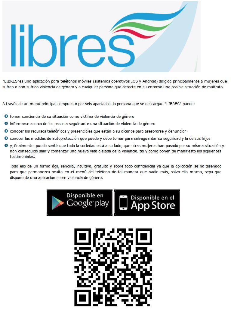 Libres (violenciagenero.mssi.gob.es)