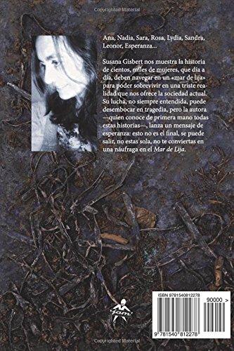 """Contraportada de su primer libro: """"Mar de lija"""""""