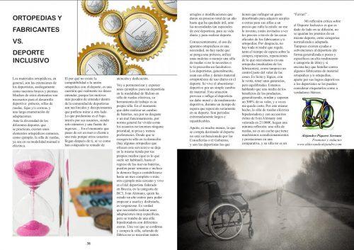 Artículo publicado en la revista INSport
