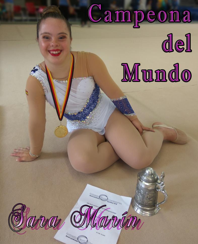 Sara Marín, gimnasta rítmica