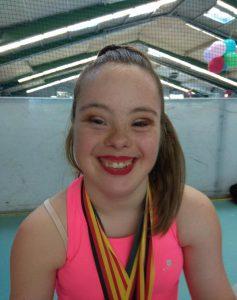 La sonrisa de Sara Marín, es la auténtica felicidad de alcanzar sus sueños.