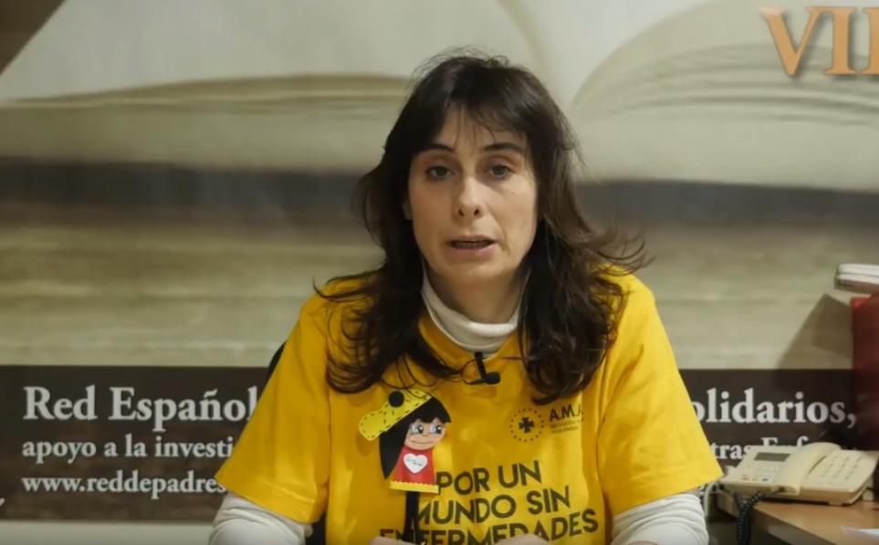 Rosa María García, es la presidenta de REMPS, quien desde el 2013 está luchando por las familias y personas afectadas por las Enfermedades Raras.