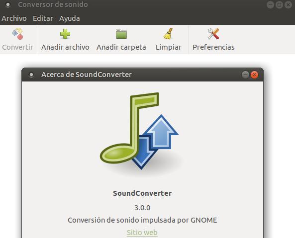 Por su aspecto austero y pobre, SoundConverter, da una imagen de lo que no es. Tiene un motor de conversión potente llegando a convertir ficheros múltiples de manera simultánea ahorrando un tiempo considerable. Es eficaz y prácticamente se traga cualquier formato.